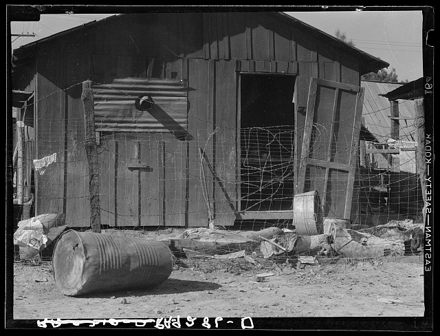 Slums of Brawley, California. Imperial Valley