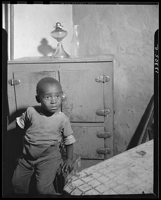 Washington, D.C. A young boy who lives near the nation's capitol