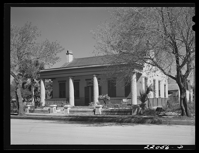 Brownsville, Texas. Stillman house, the home of James Stillman, owner of one of the greatest fortunes and banking houses in America