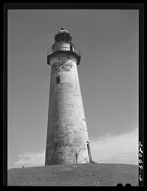 Port Isabel, Texas. Abandoned lighthouse