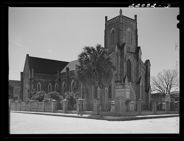 Brownsville, Texas. Catholic church