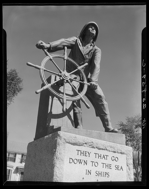 Statue in Gloucester, Massachusetts