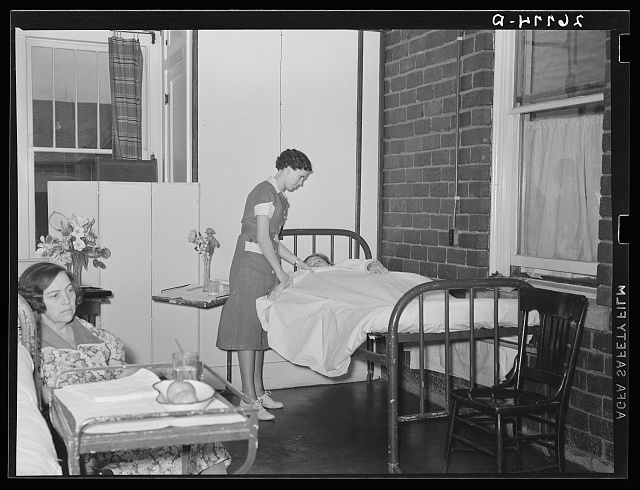 Women's ward. Herrin Hospital (private). Herrin, Illinois