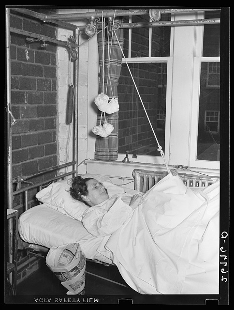 Woman patient. Herrin Hospital (private). Herrin, Illinois