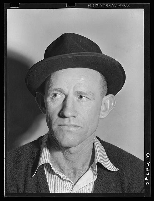 Unemployed miner. Herrin, Illinois (see 26881-D)