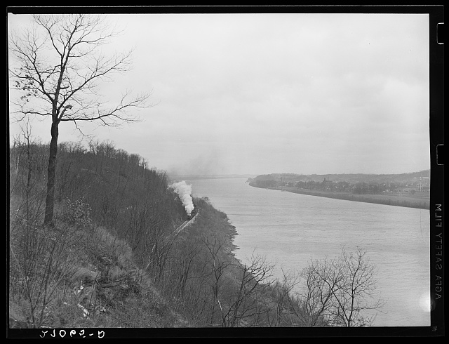 Ohio River near Owensboro, Kentucky