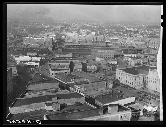 Tobacco factories. Durham, North Carolina