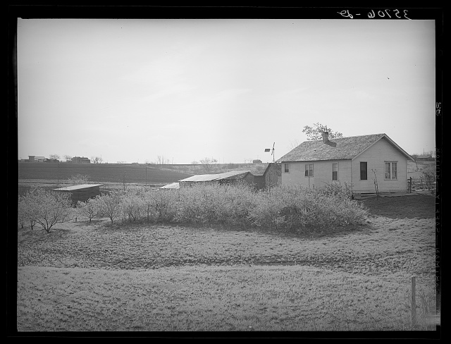 Small farmstead in Williamson County, Texas