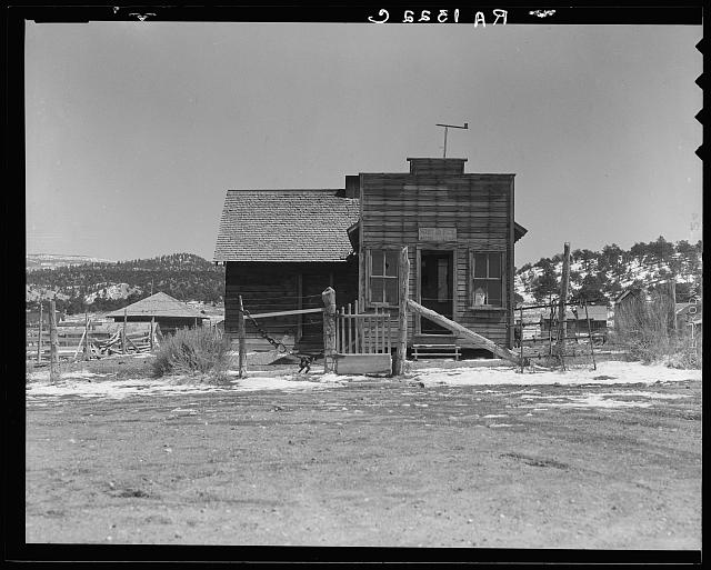 Widtsoe post office. Utah