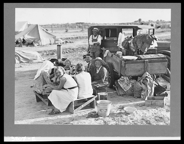 Potato harvesters. Kern County, California