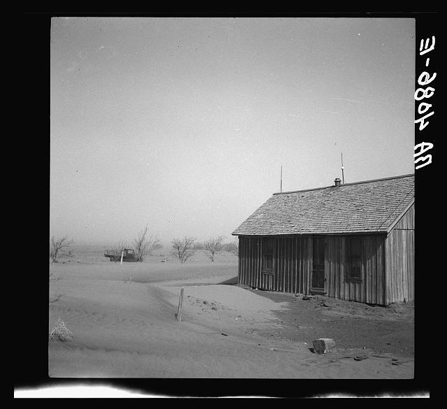 Barnyard. Cimarron County, Oklahoma