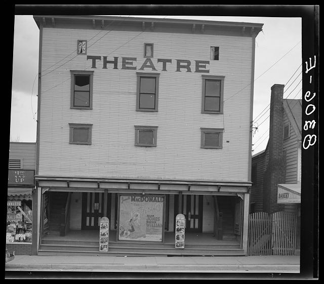 Movie theater. Romney, West Virginia