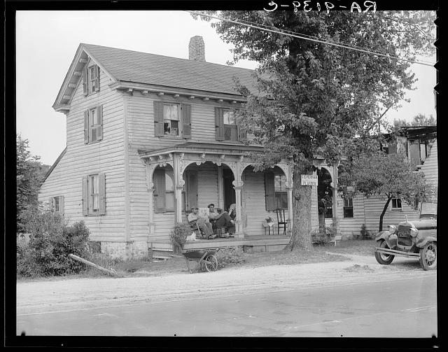 Home of idle American workman. Near Bridgton, New Jersey