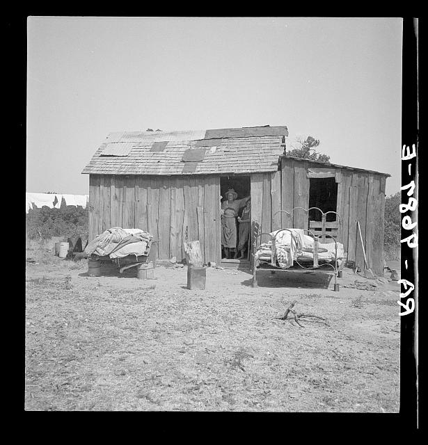 People living in miserable poverty. Elm Grove, Oklahoma County, Oklahoma