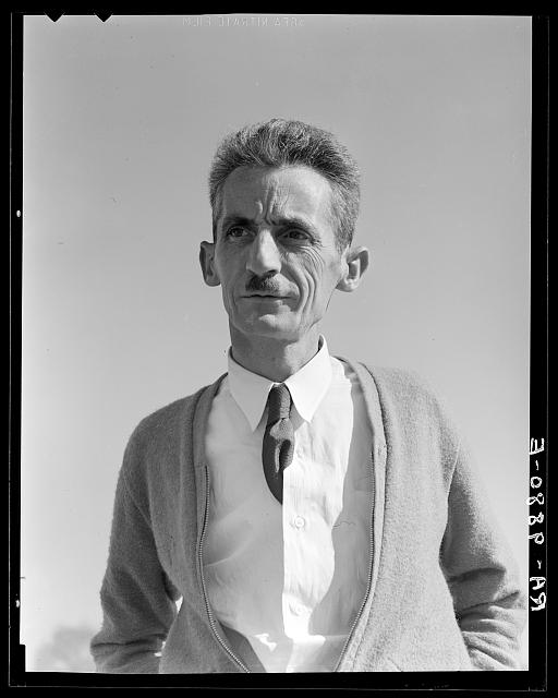 Tom Collins, manager of Kern County migrant camp, California