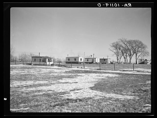 Shantytown near Spencer, Iowa