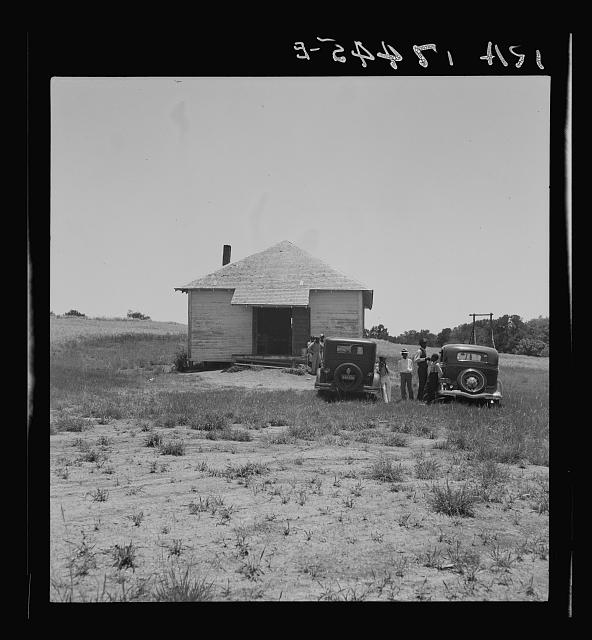 Church for Negroes. Ellis County, Texas