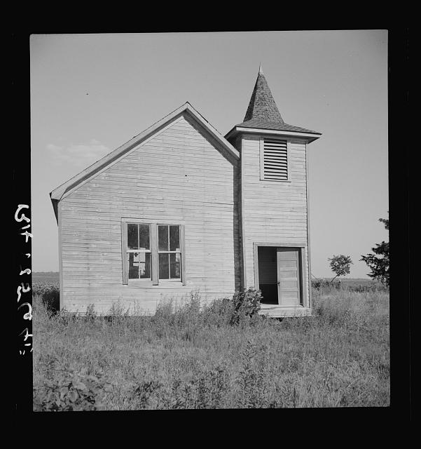 Church on the Aldridge Plantation near Leland, Mississippi
