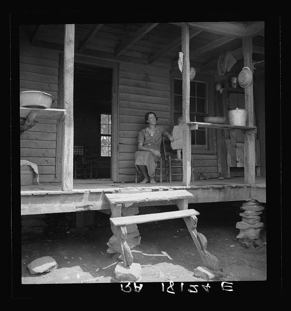 Sharecropper family near Chesnee, South Carolina