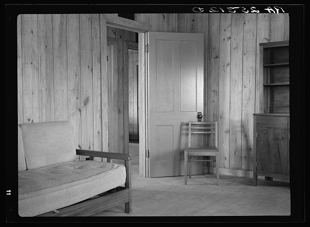 Interior. Plum Bayou Homesteads, Arkansas