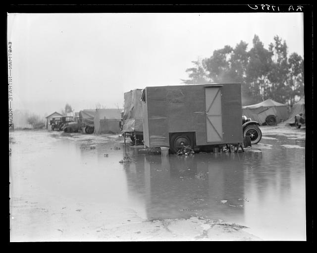 California migrant camp