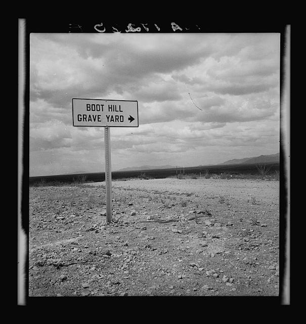 Sign near Tombstone, Arizona