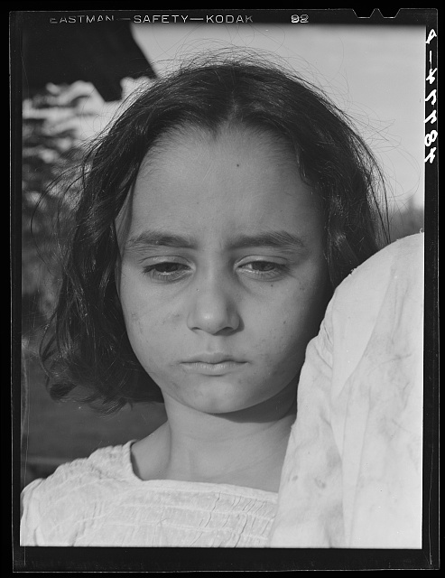 Caguas, Puerto Rico (vicinity). Daughter of a farm laborer