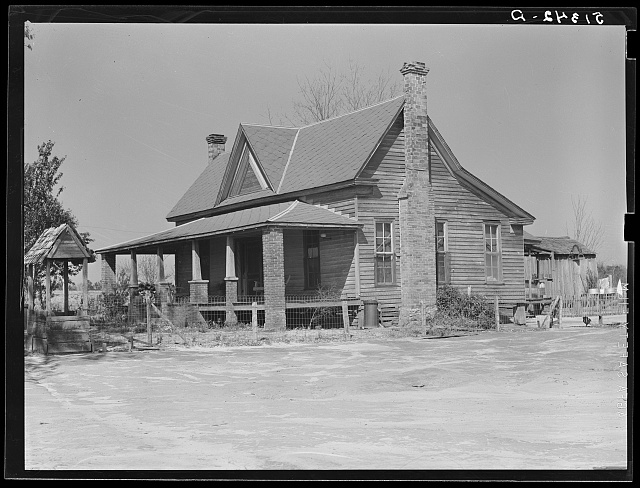 Home of George Johnson, tenant purchase family. Pike County, Alabama