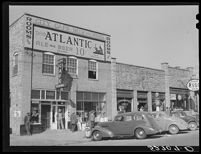 [Hillsboro] street, Oxford, Granville County, North Carolina