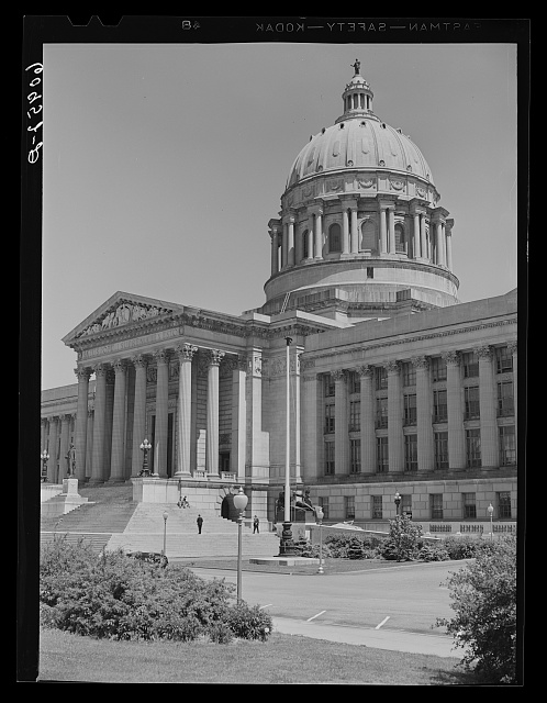 State capitol. Jefferson City, Missouri