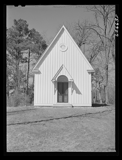 Episcopal church. King William County, Virginia