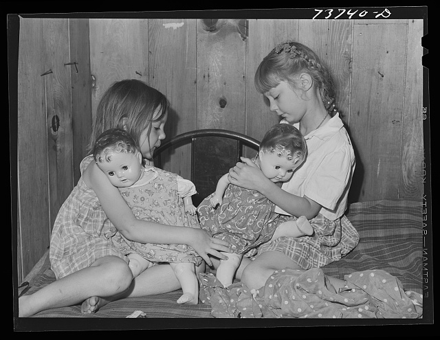 Ola, Idaho. FSA (Farm Security Administration) Ola self-help cooperative. Children of a member