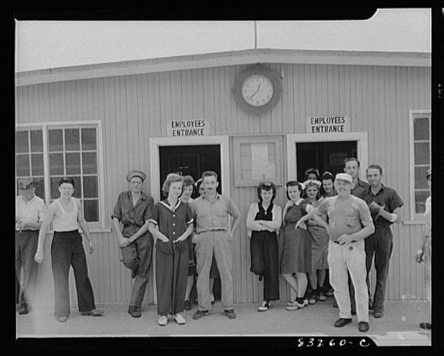 Bridgeton, New Jersey. Seabrook Farm. Cannery workers