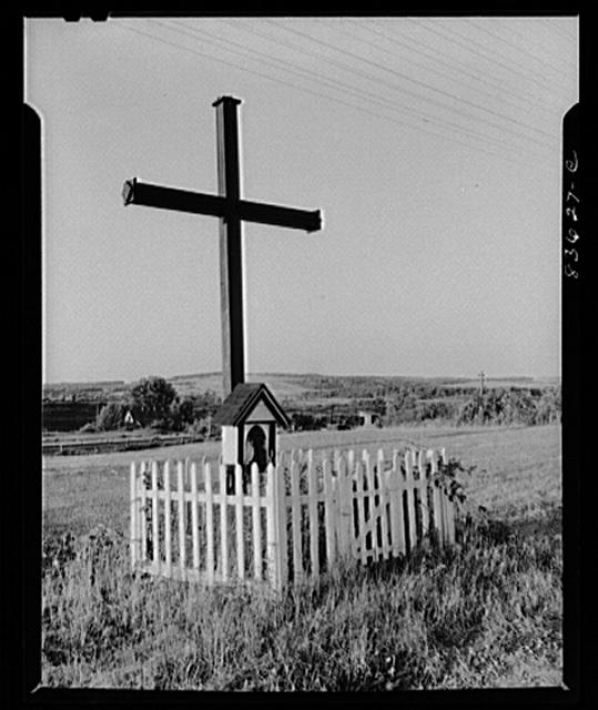 Van Buren, Maine (vicinity). Parish cross