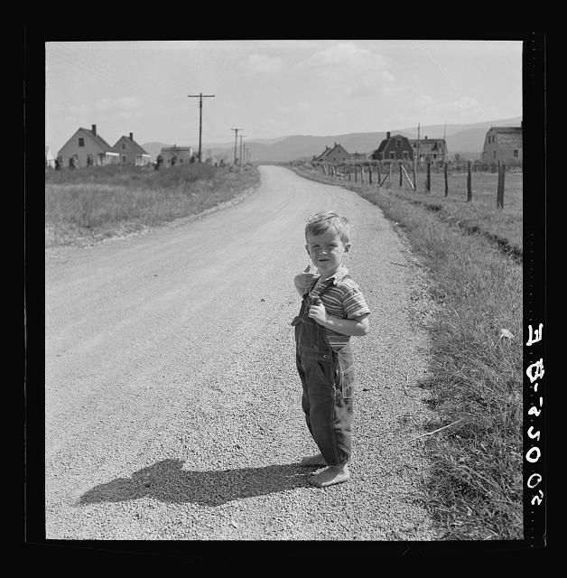 Child of homesteader. Tygart Valley, West Virginia