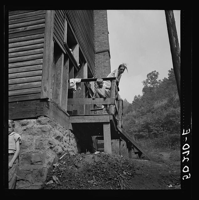 Wife and child of unemployed miner. Marine, West Virginia (see 50110-D)