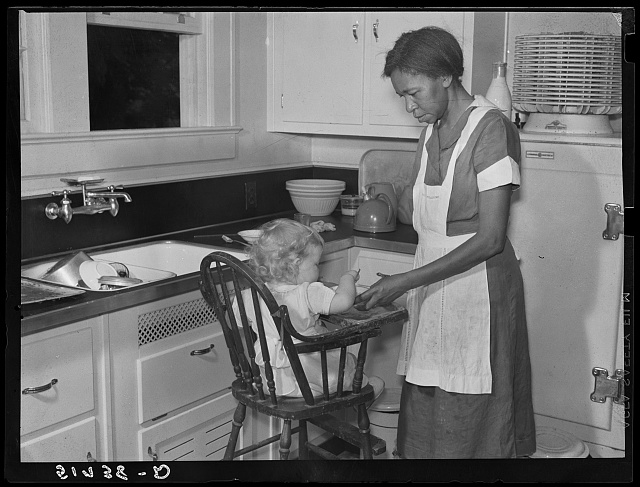 Negro domestic servant. Atlanta, Georgia