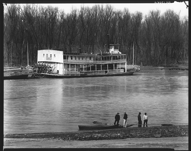 Ferry and river men. Vicksburg, Mississippi