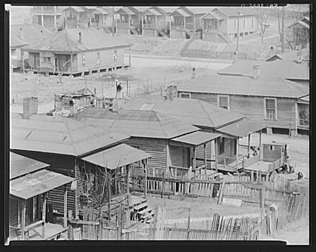 Negro houses. Atlanta, Georgia