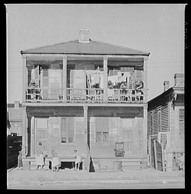 Negro house. New Orleans, Louisiana