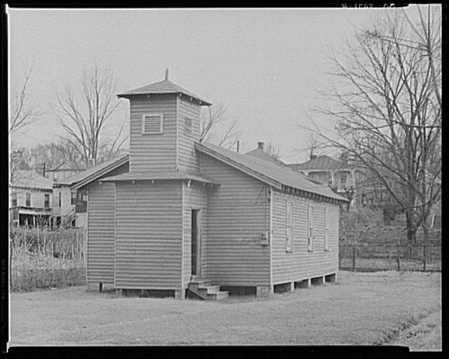 Negro church at Vicksburg, Mississippi