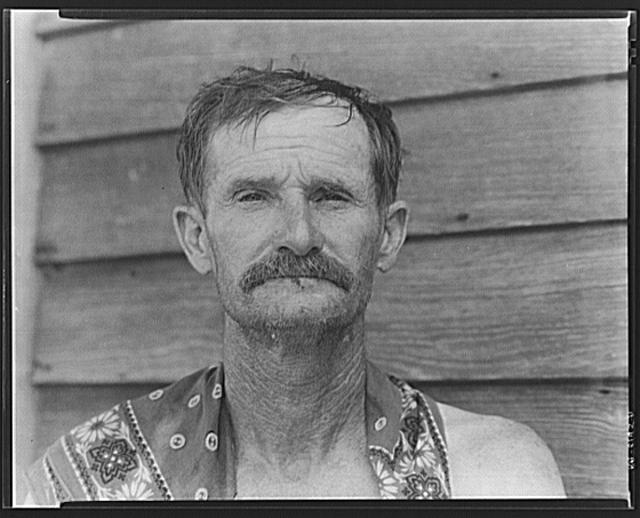 Bud Fields, cotton sharecropper. Hale County, Alabama