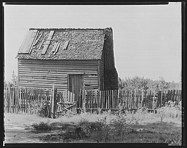 Prayer meeting house. Hale County, Alabama. Frank Tengle's farm