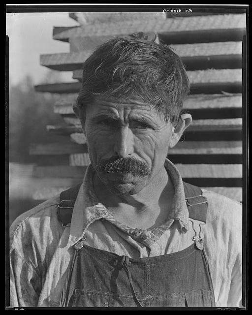 Frank Tengle, cotton sharecropper. Hale County, Alabama