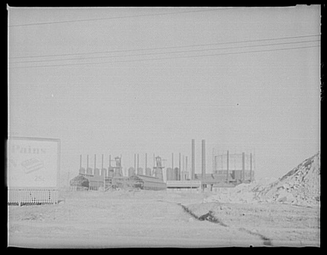 Steel mill. Vicinity of Montgomery, Alabama