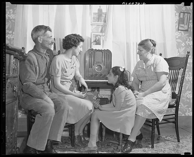 Provincetown, Massachusetts. Family of a Portuguese dory fisherman