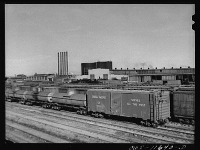 Amarillo, Texas. Railroad yards