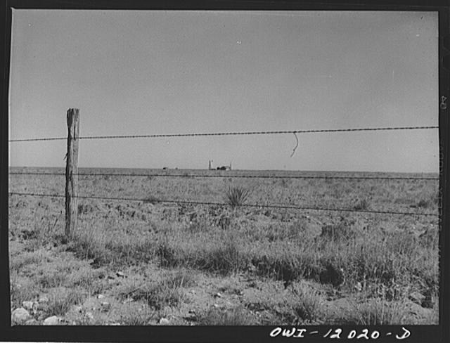 Roosevelt County, New Mexico. Farmstead