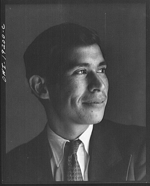 Albuquerque, New Mexico. Spanish-American man