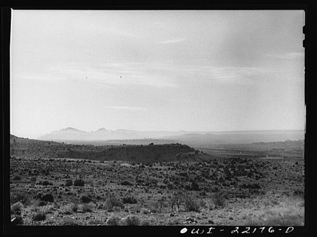 Gallup (vicinity), New Mexico. General view of the countryside